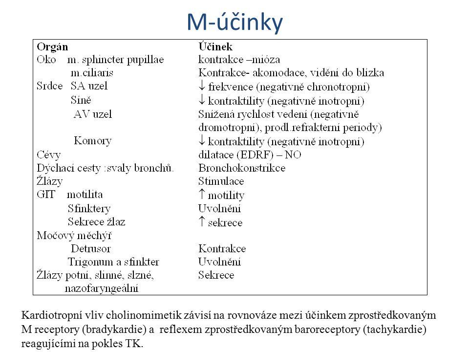 M-účinky