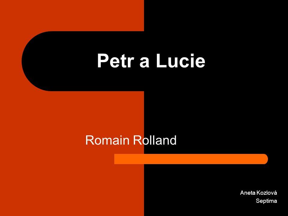 Romain Rolland Aneta Kozlová Septima