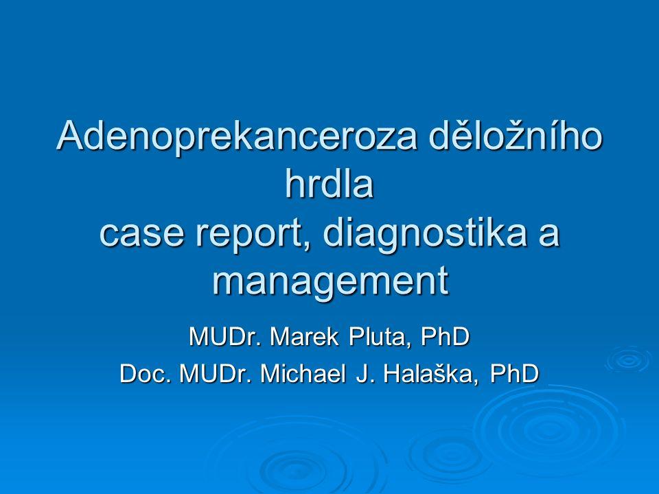 MUDr. Marek Pluta, PhD Doc. MUDr. Michael J. Halaška, PhD