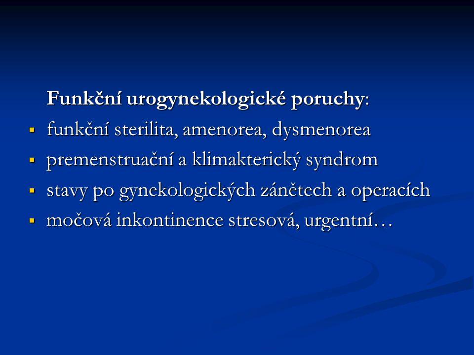 Funkční urogynekologické poruchy: