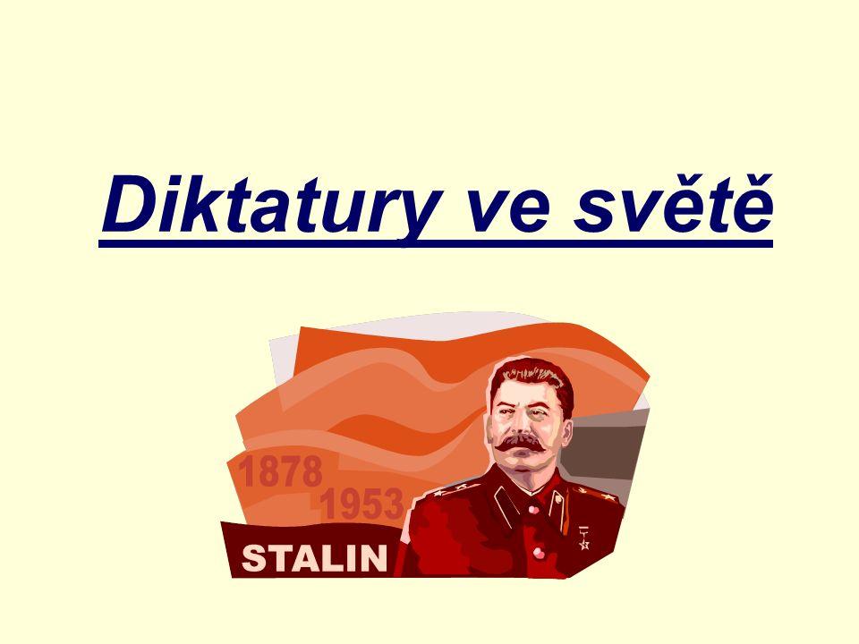 Diktatury ve světě