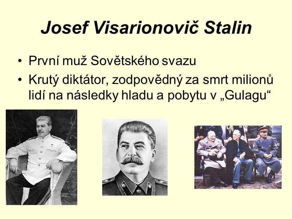 Josef Visarionovič Stalin