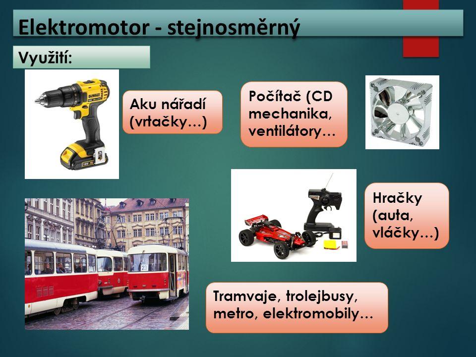 Elektromotor - stejnosměrný