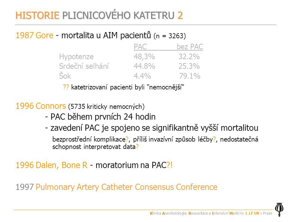 HISTORIE PLICNICOVÉHO KATETRU 2