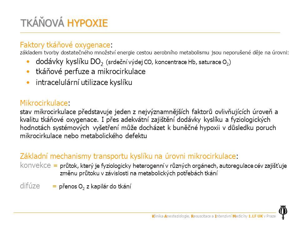 TKÁŇOVÁ HYPOXIE