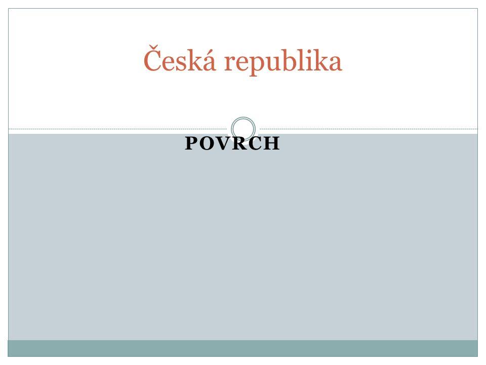 Česká republika Povrch