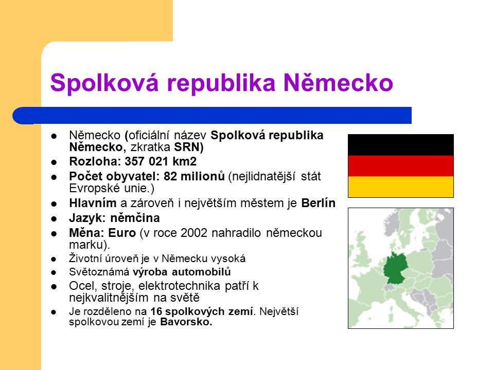 Spolková republika Německo