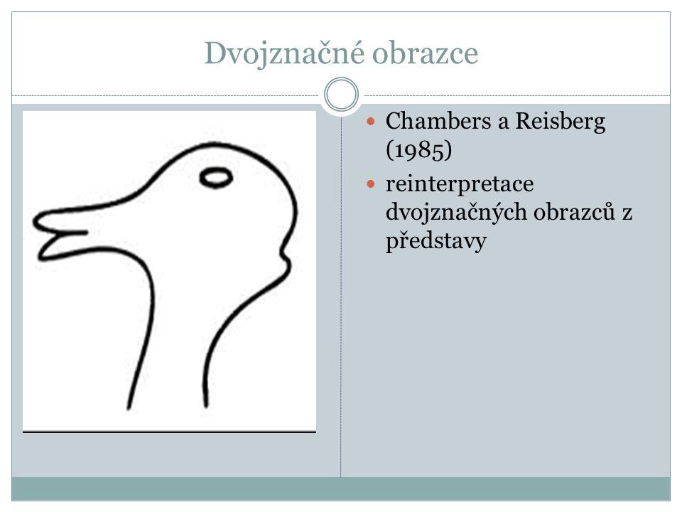 Dvojznačné obrazce Chambers a Reisberg (1985)