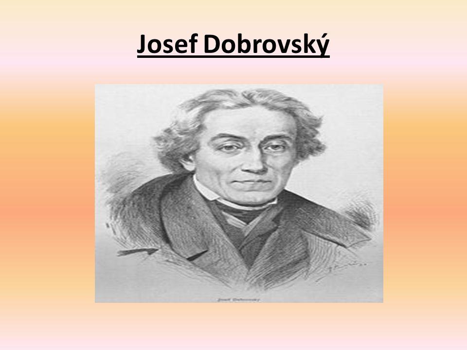 Josef Dobrovský Obrázek číslo 1