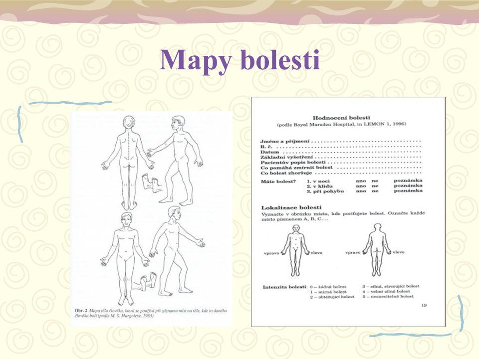 Mapy bolesti