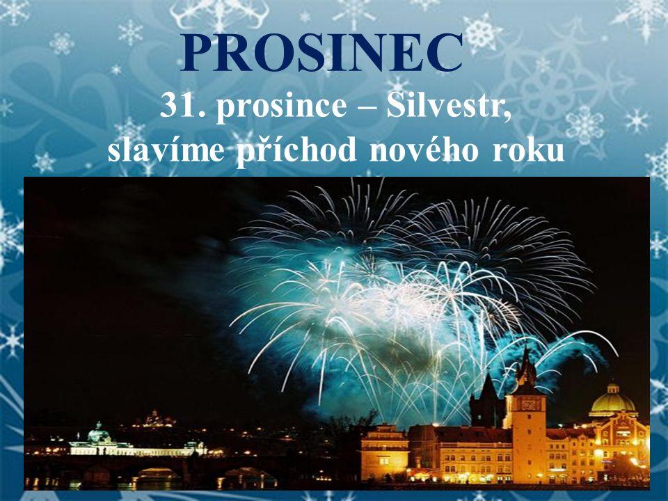 slavíme příchod nového roku