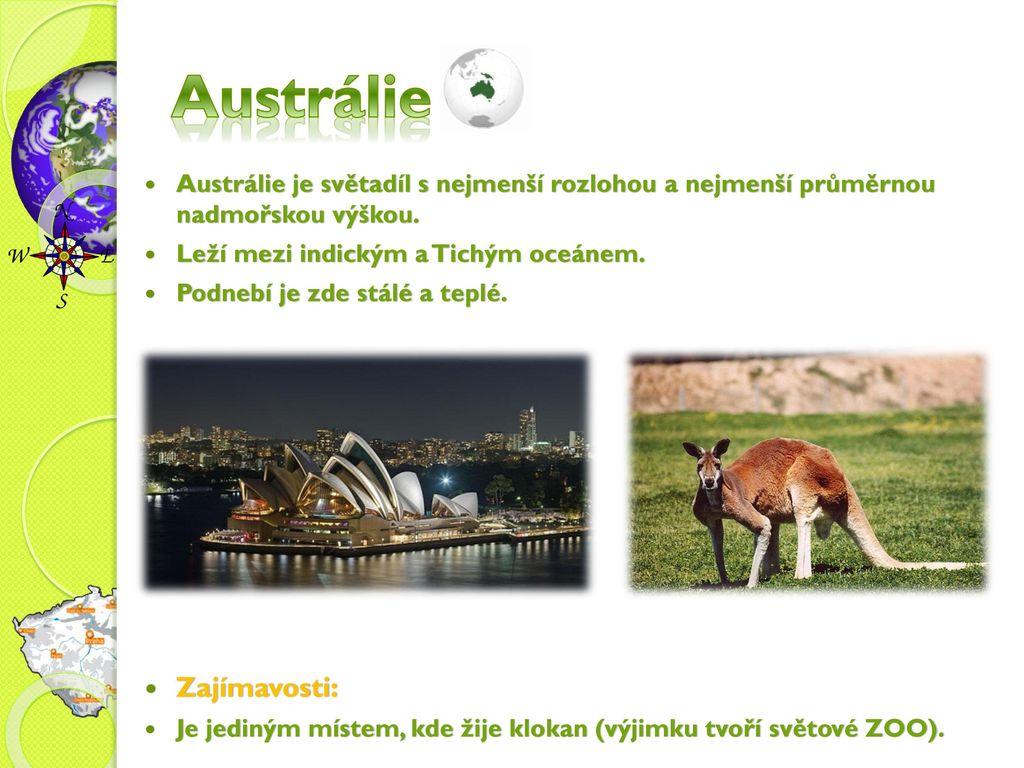 Austrálie Zajímavosti: