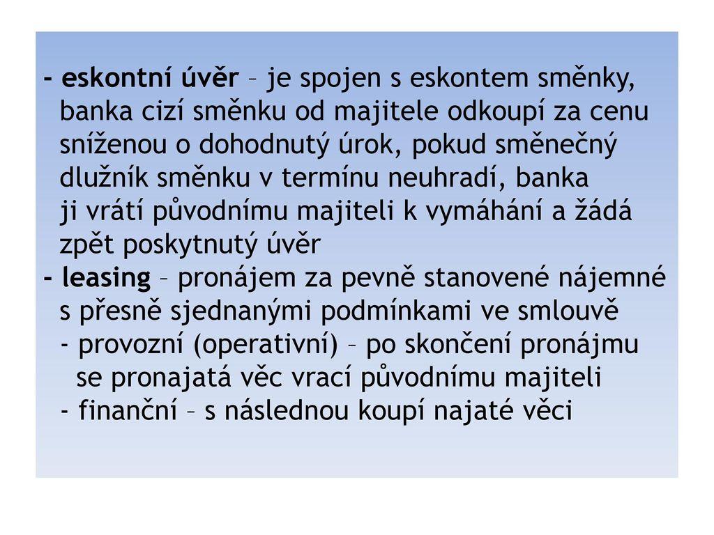 pujcky online ihned česká třebová
