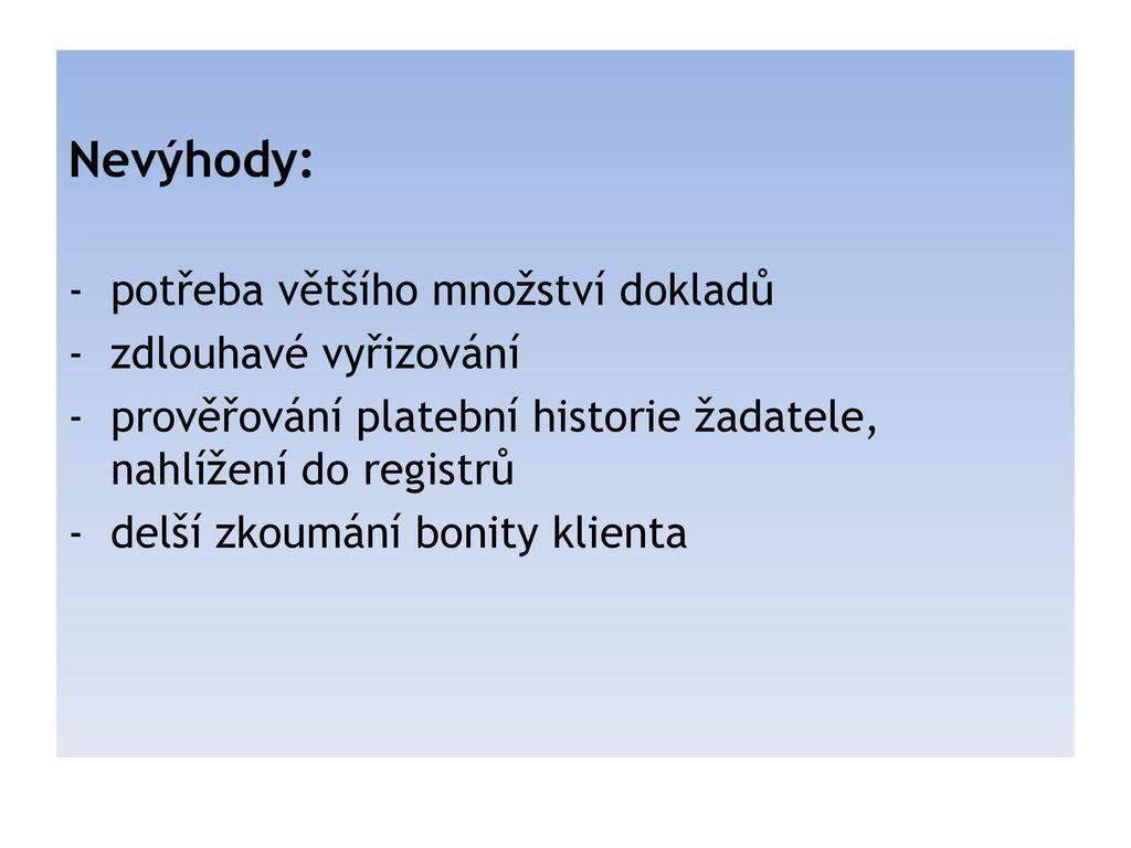 Pujcka online česká lípa