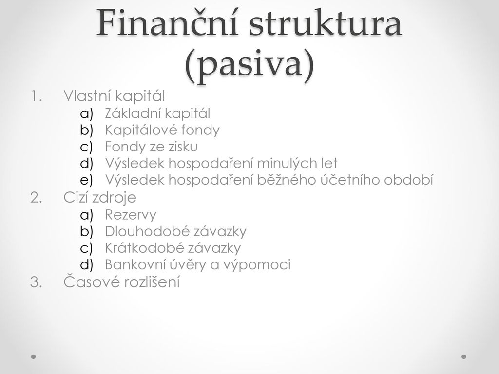 Půjčka jak účtovat