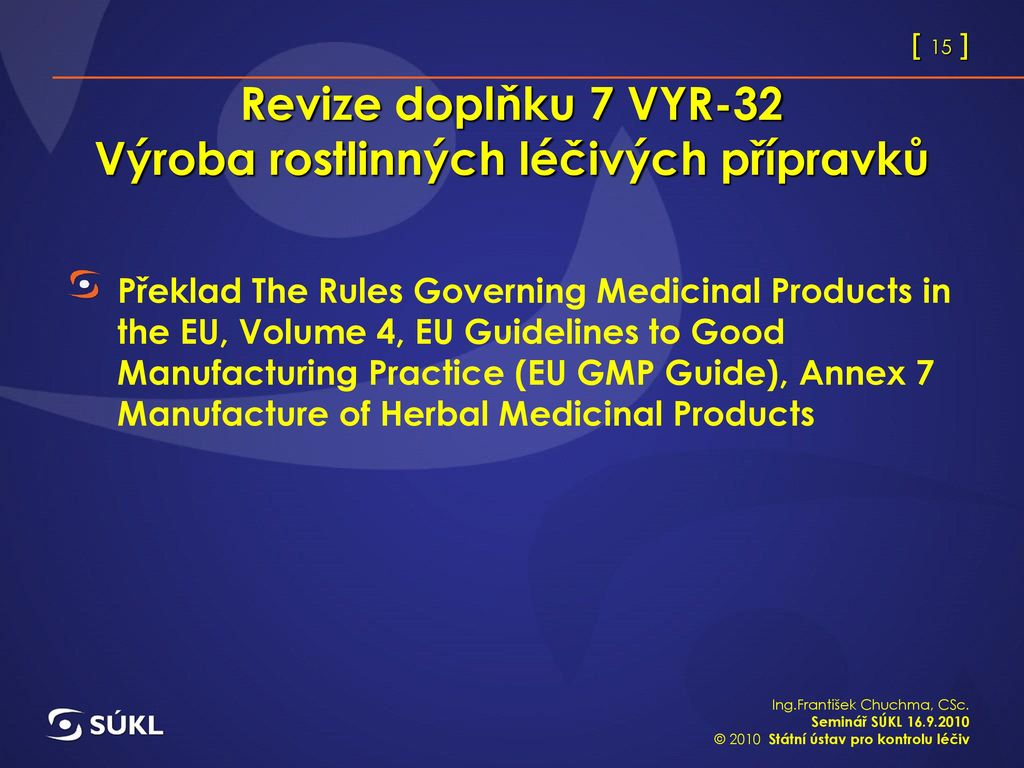 guide to good manufacturing practice for medicinal products