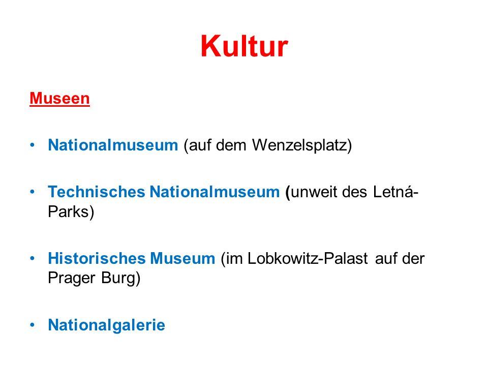 Kultur Museen Nationalmuseum (auf dem Wenzelsplatz)