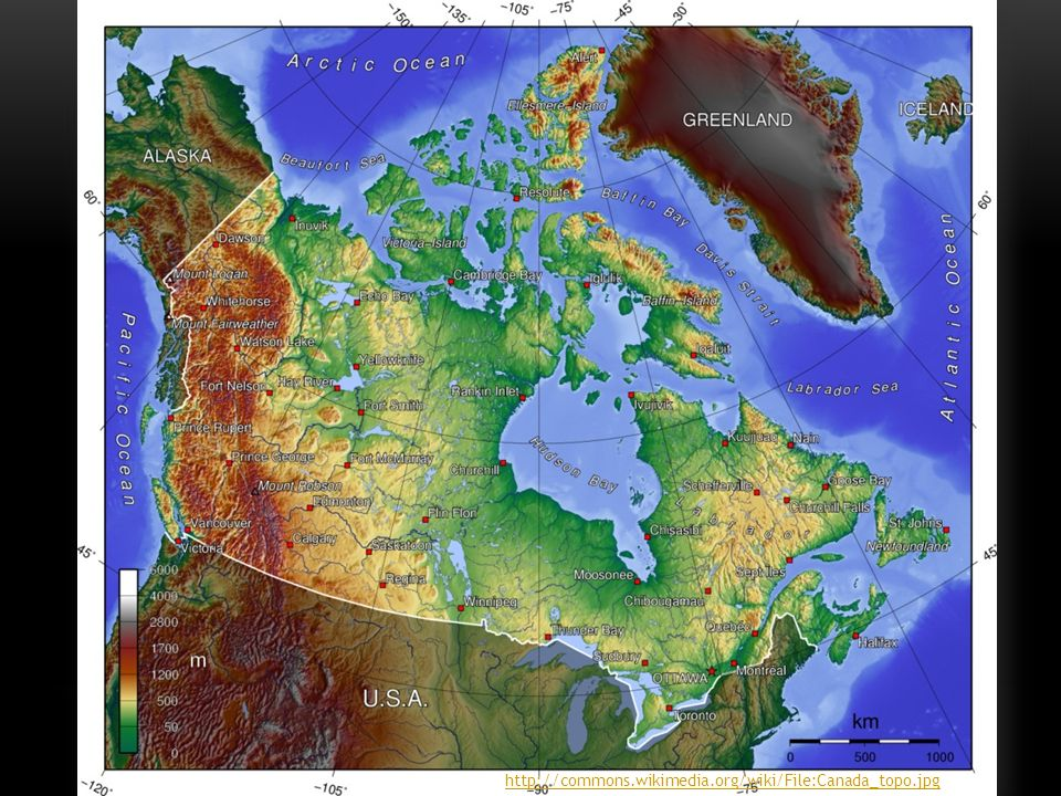 http://commons.wikimedia.org/wiki/File:Canada_topo.jpg