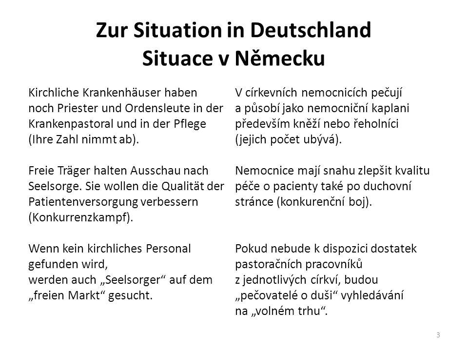 Zur Situation in Deutschland Situace v Německu
