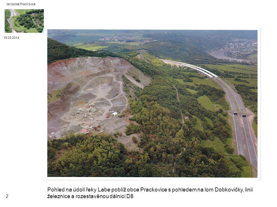 landslide Prackovice 19.03.2014.