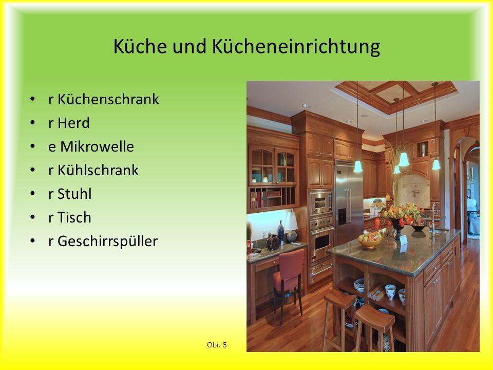 Küche und Kücheneinrichtung
