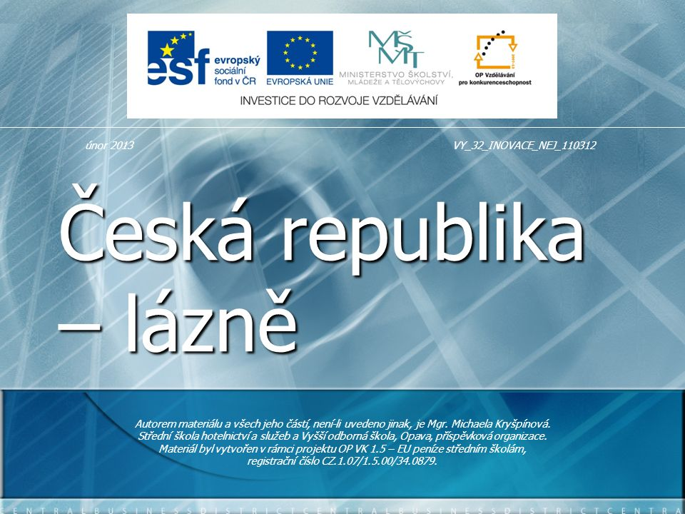 Česká republika – lázně