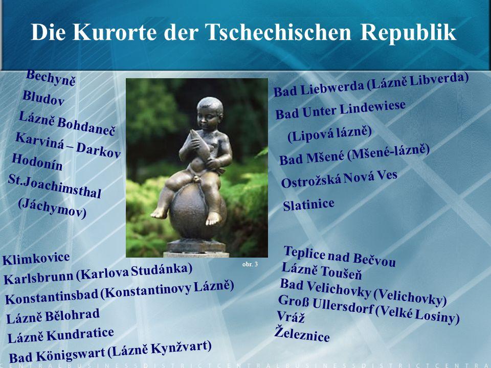 Die Kurorte der Tschechischen Republik