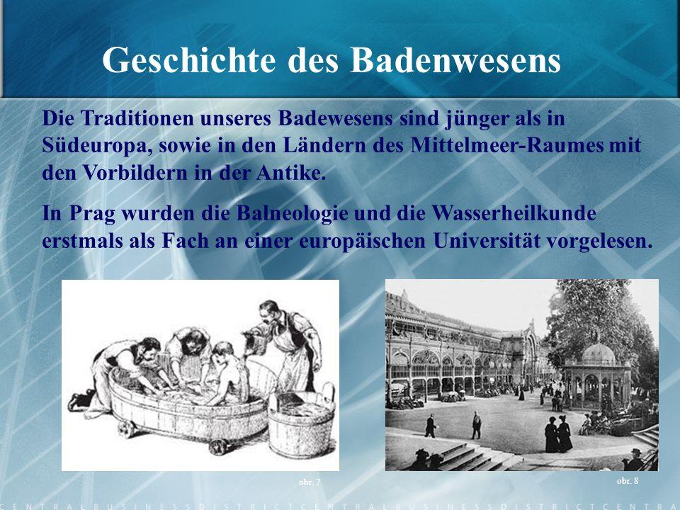 Geschichte des Badenwesens
