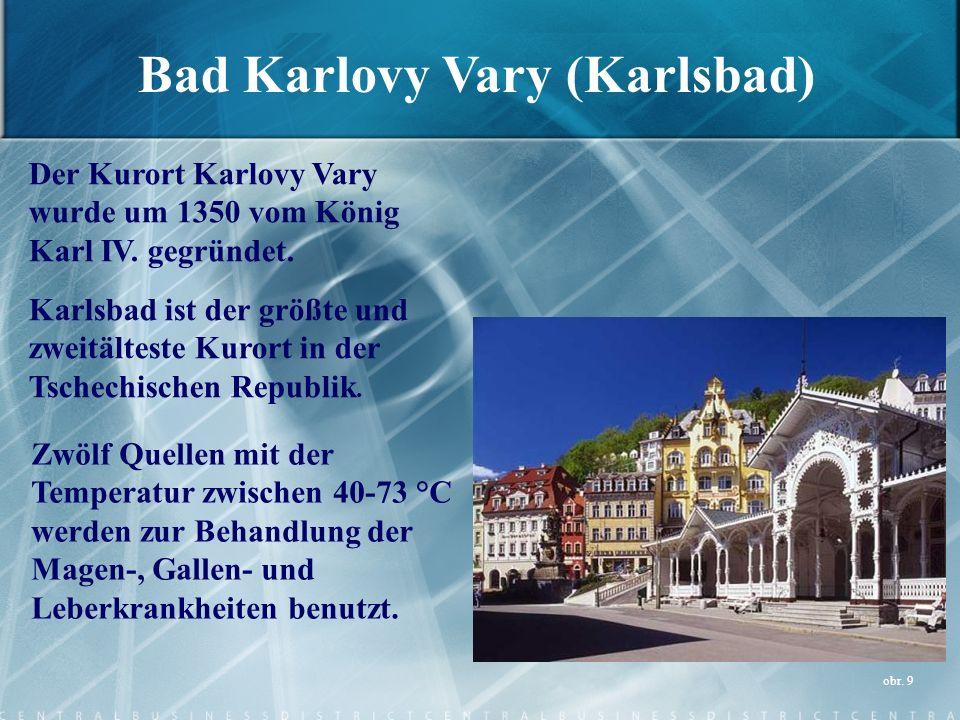 Bad Karlovy Vary (Karlsbad)