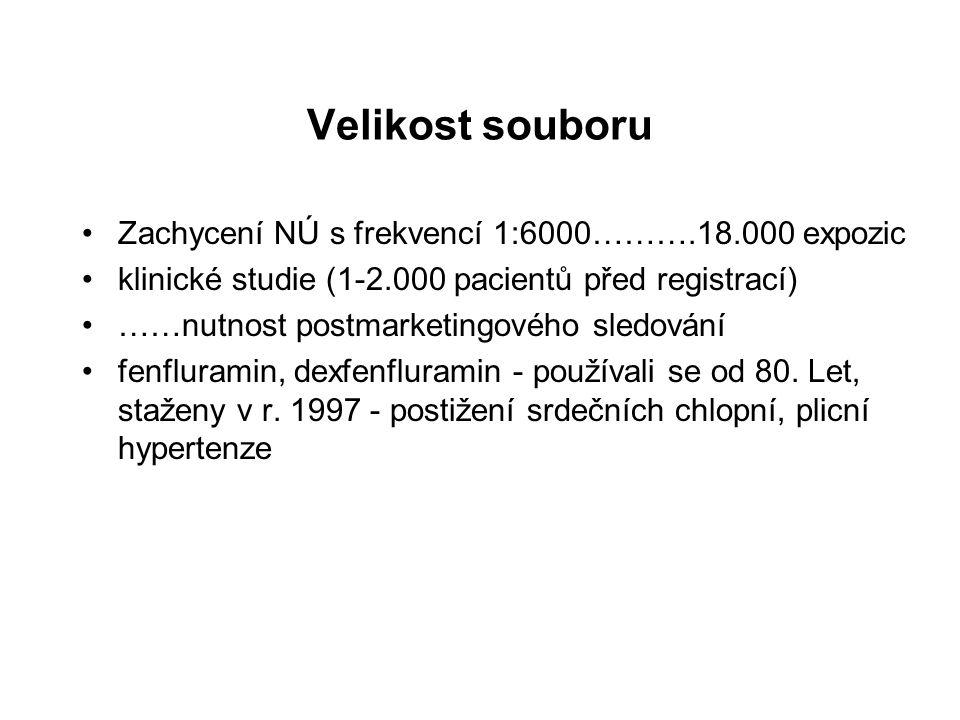 Velikost souboru Zachycení NÚ s frekvencí 1:6000……….18.000 expozic