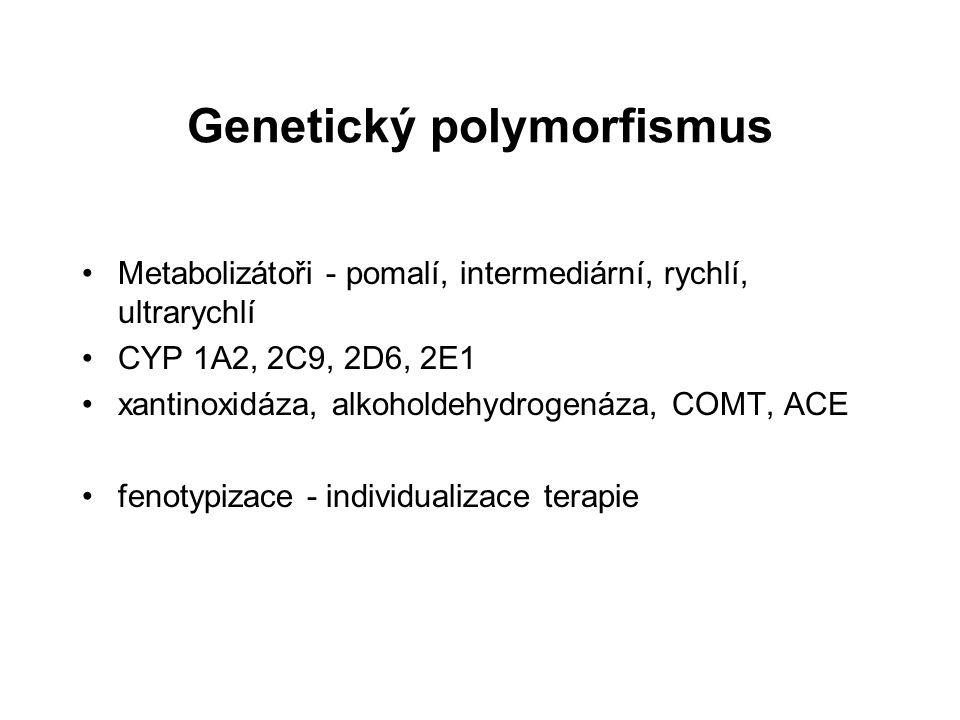 Genetický polymorfismus