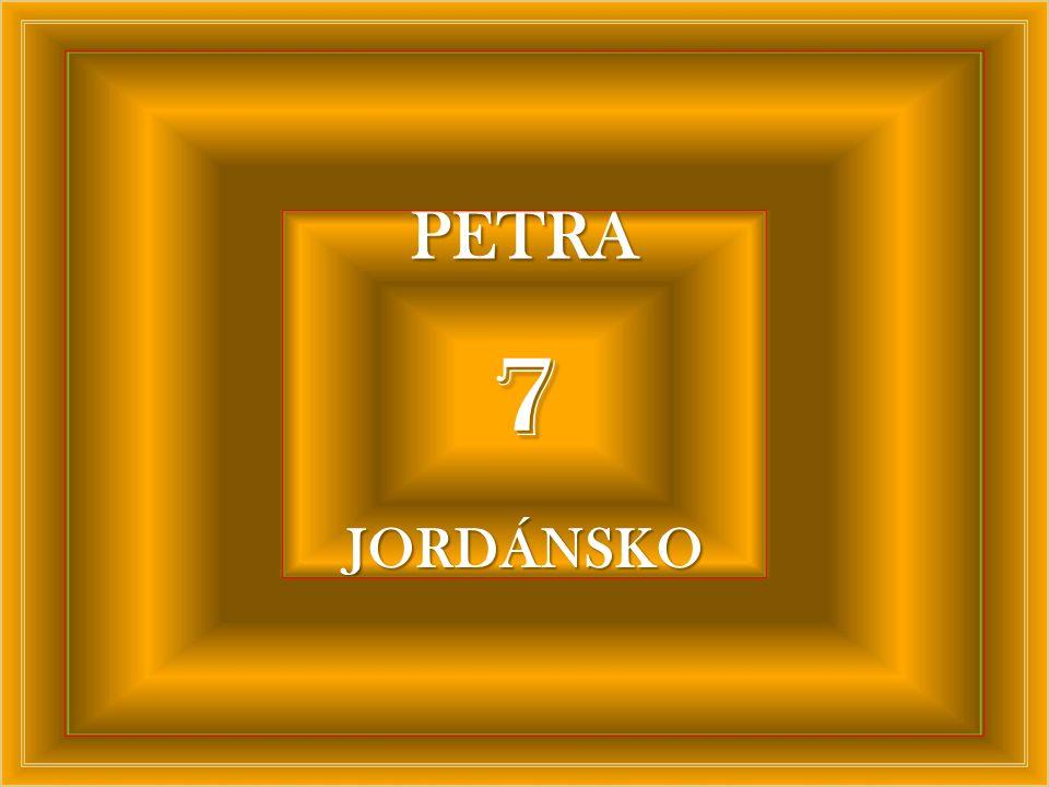 PETRA 7 JORDÁNSKO