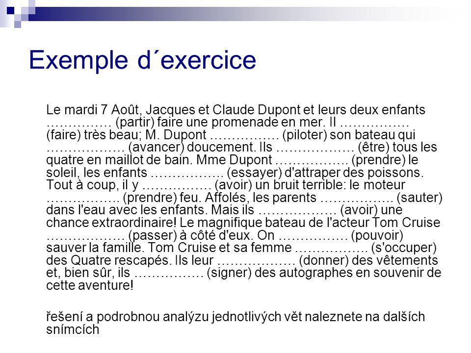 Exemple d´exercice