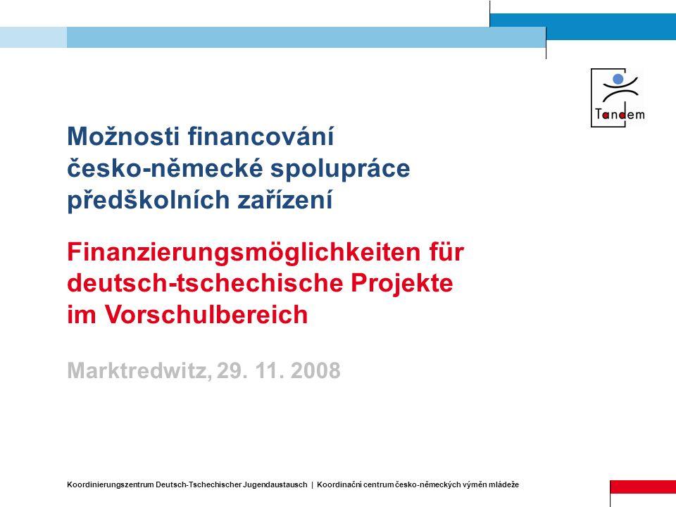 česko-německé spolupráce předškolních zařízení
