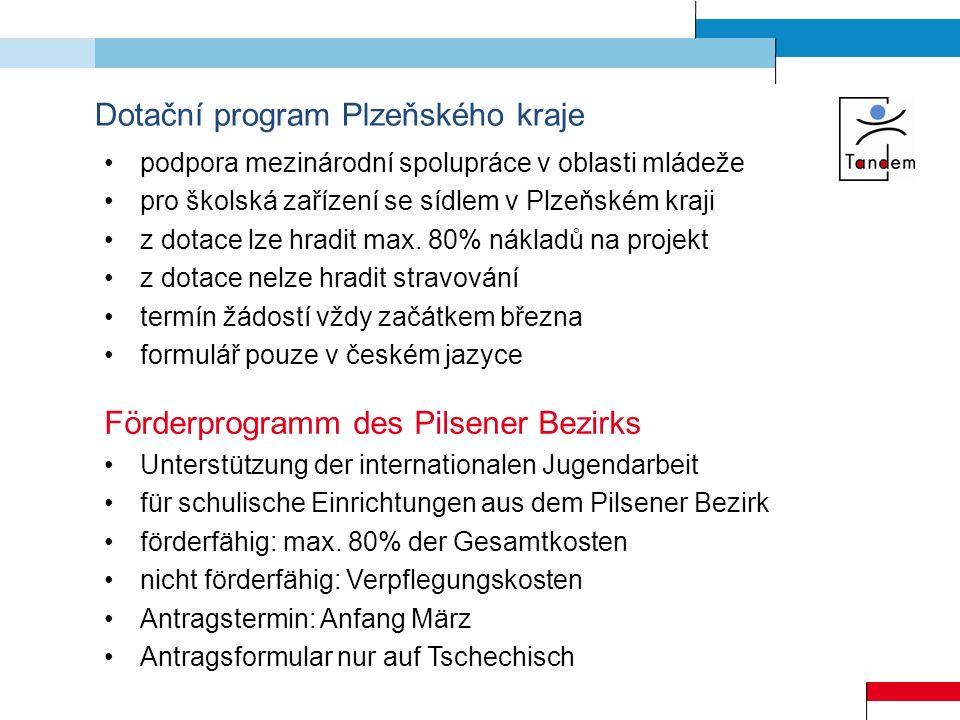 Dotační program Plzeňského kraje