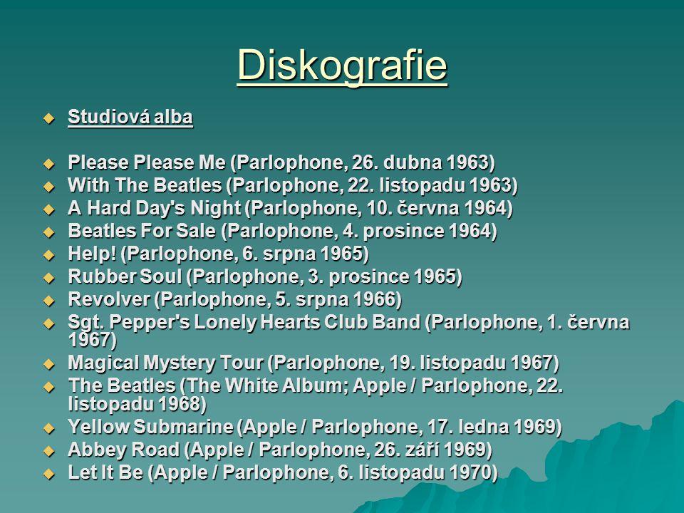 Diskografie Studiová alba