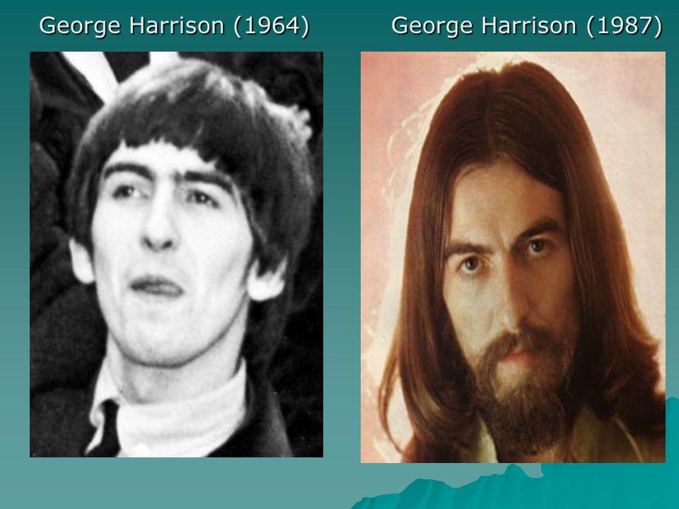George Harrison (1964) George Harrison (1987)