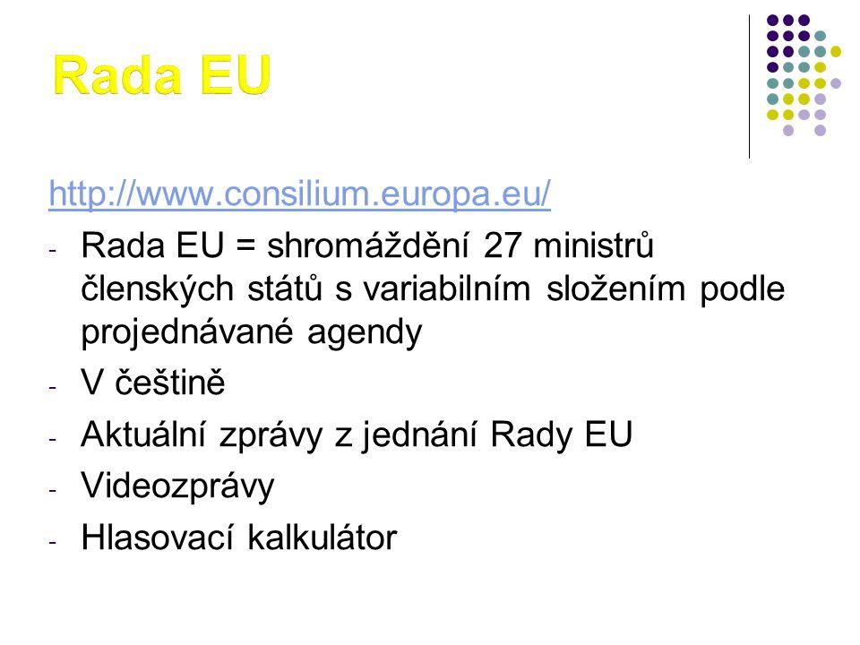 Rada EU http://www.consilium.europa.eu/