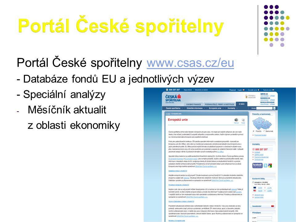 Portál České spořitelny