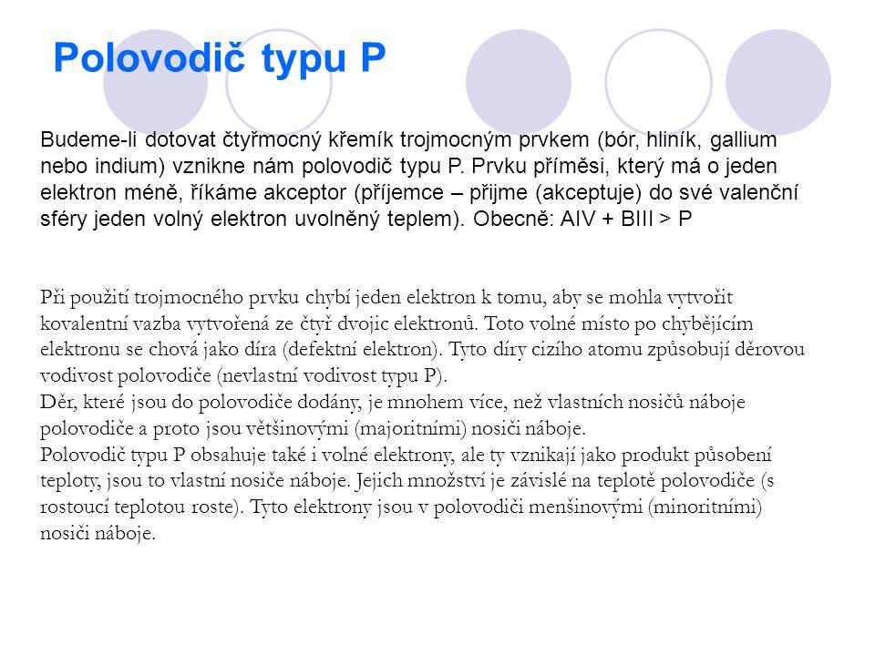 Polovodič typu P