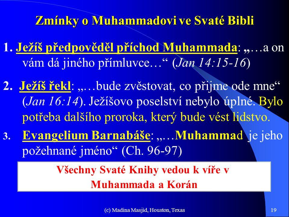 Zmínky o Muhammadovi ve Svaté Bibli