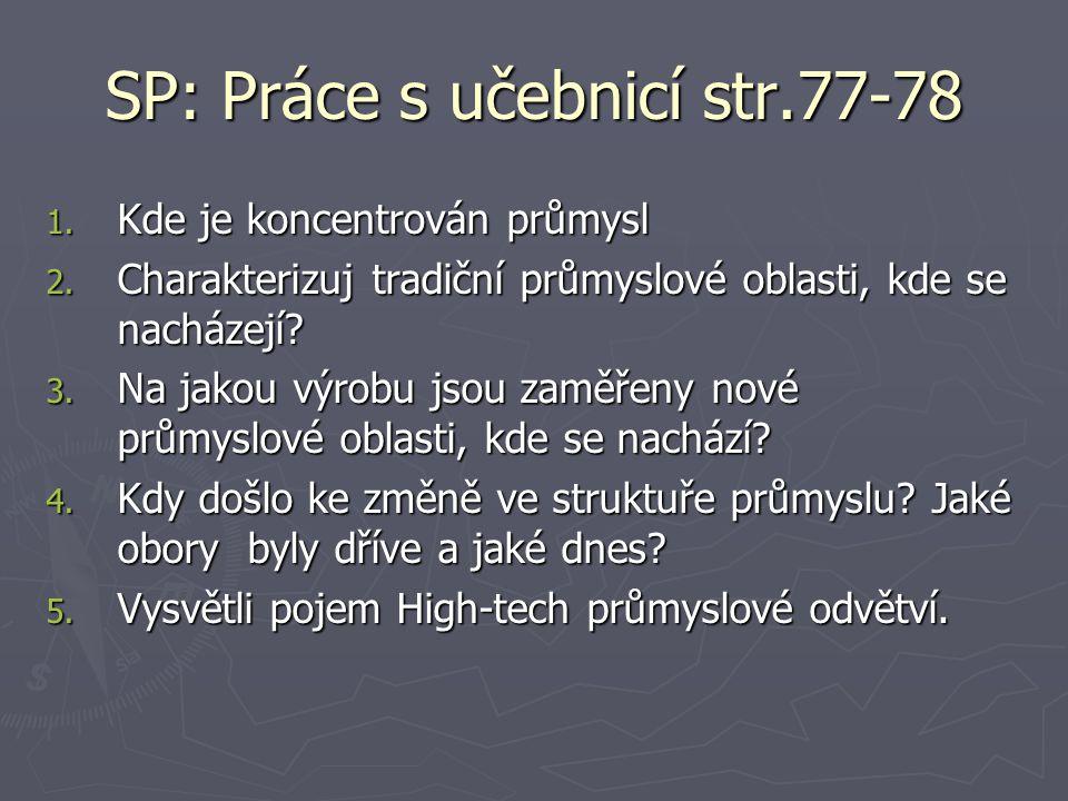 SP: Práce s učebnicí str.77-78