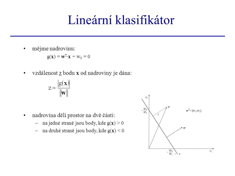 Lineární klasifikátor