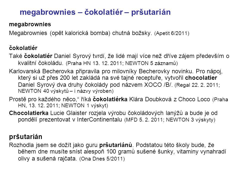 megabrownies – čokolatiér – pršutarián