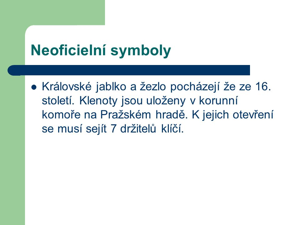 Neoficielní symboly