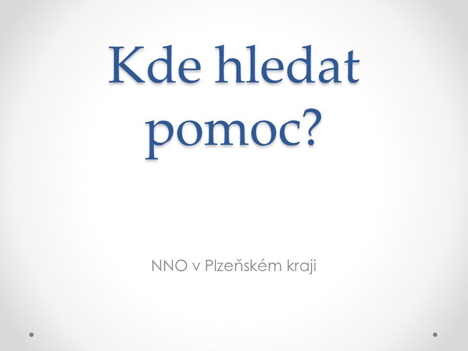 Kde hledat pomoc NNO v Plzeňském kraji