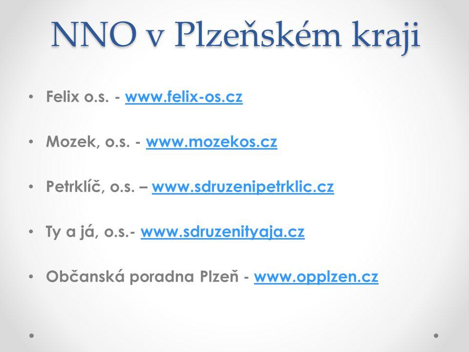 NNO v Plzeňském kraji Felix o.s. - www.felix-os.cz