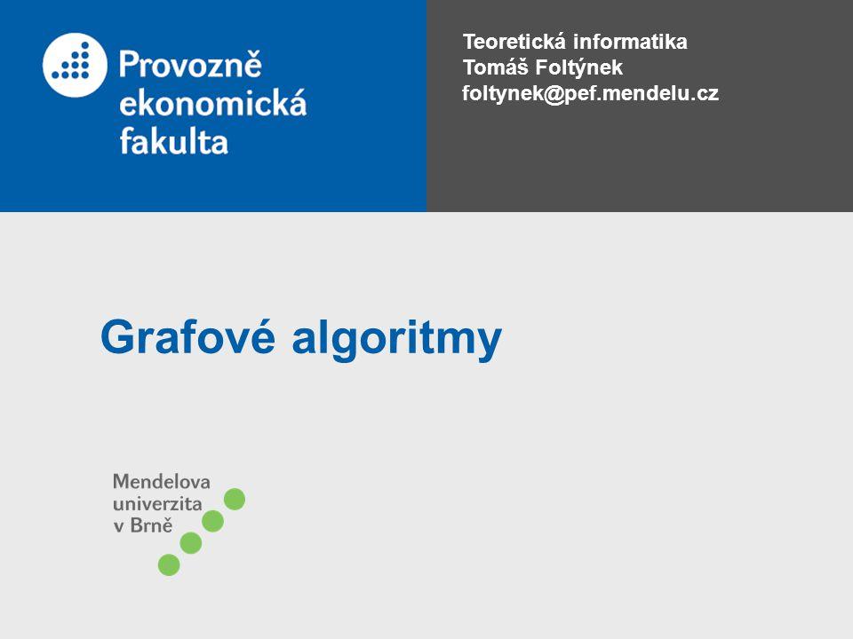 Grafové algoritmy