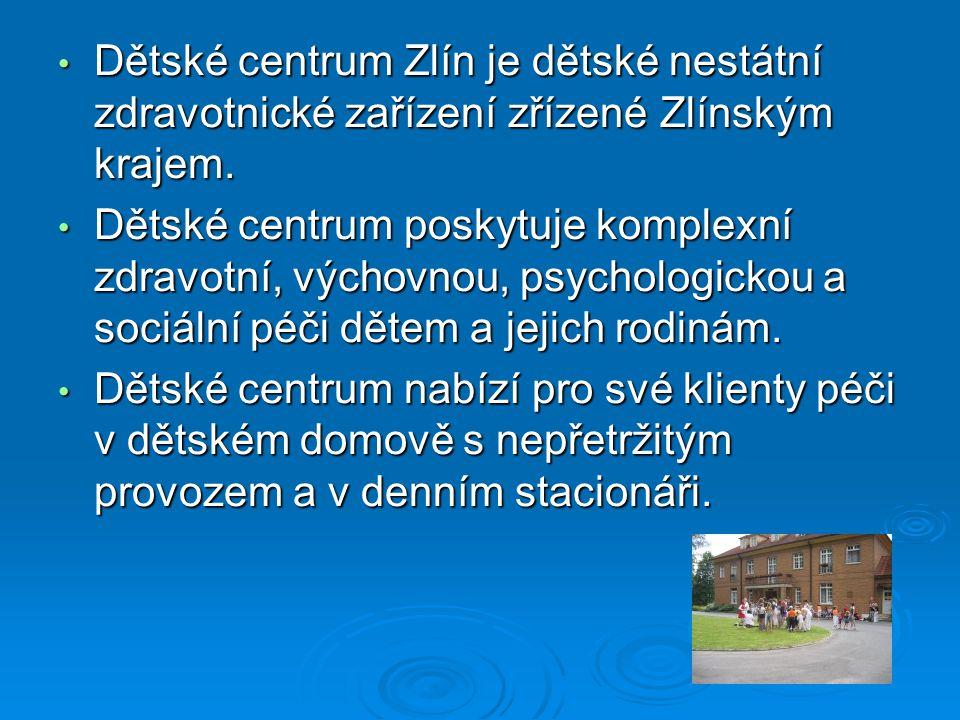 Dětské centrum Zlín je dětské nestátní zdravotnické zařízení zřízené Zlínským krajem.