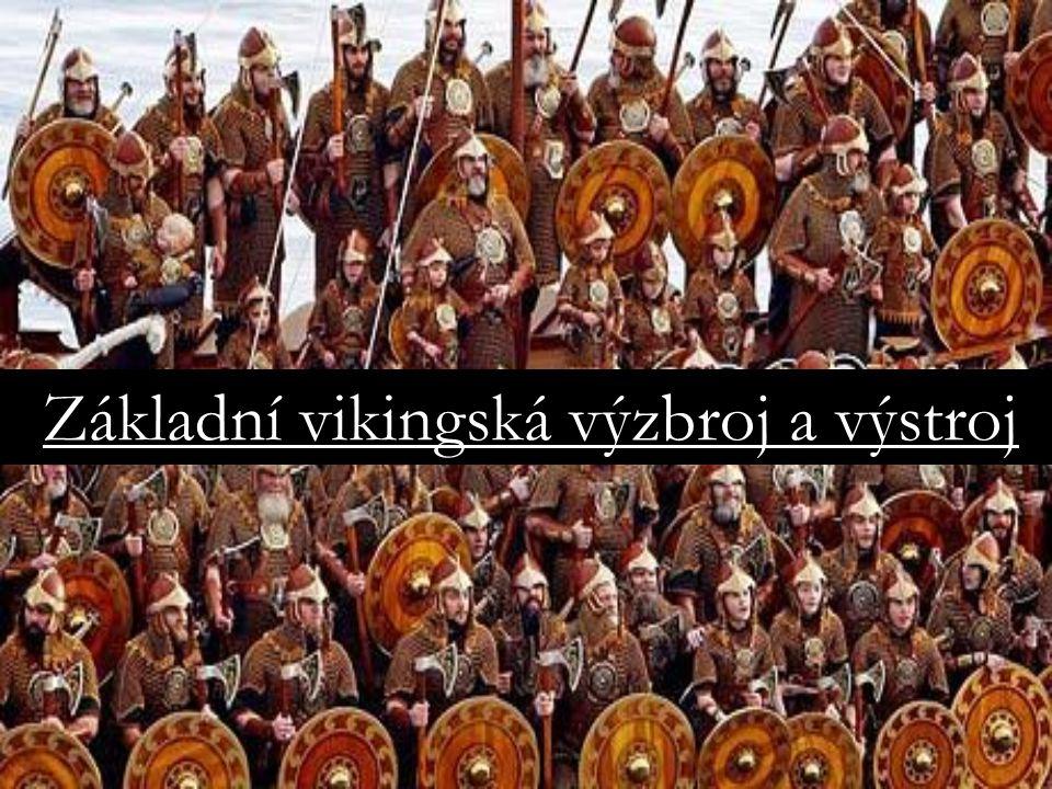 Základní vikingská výzbroj a výstroj